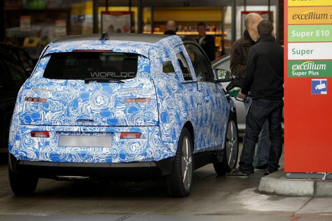 2013 BMW i3 REx ReFueling