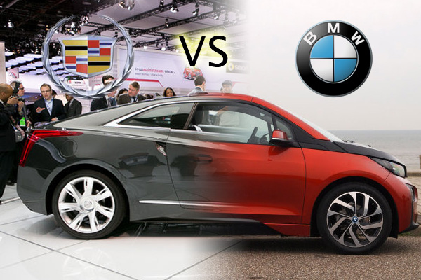 Cadillac ELR vs BMW i3 Range Extender